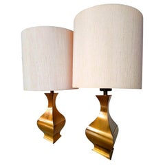 Pair of Table Lamps Design A. Montagna Grillo A. Tonello for High Society, 1970s