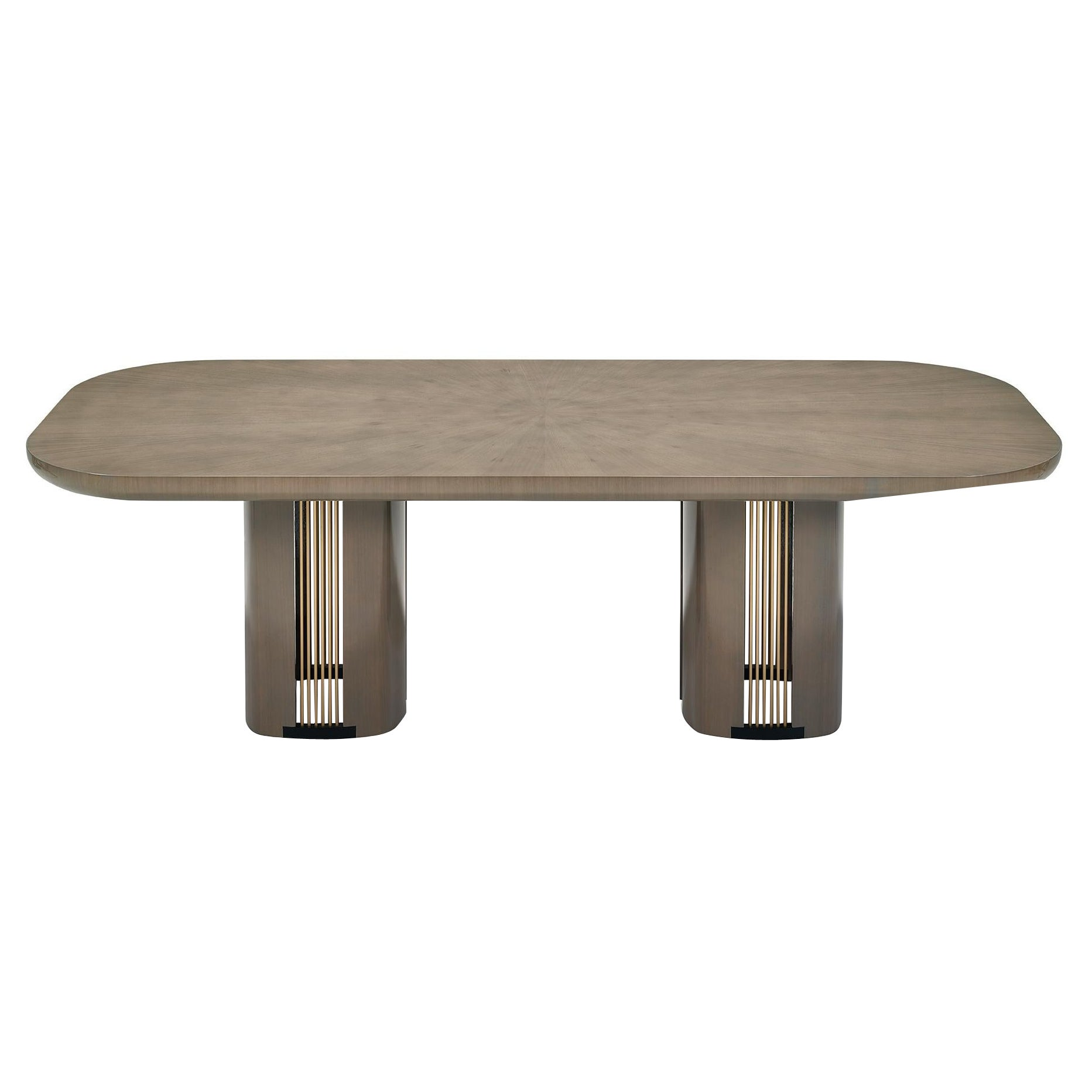 BACALL Wood Dining Table