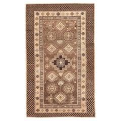 Decorative Oriental Antique Khotan Rug. Size: 6 ft 7 in x 11 ft 7 in