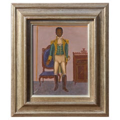 General Toussaint Louverture by Hattian Artist Serge Moleon Blaise