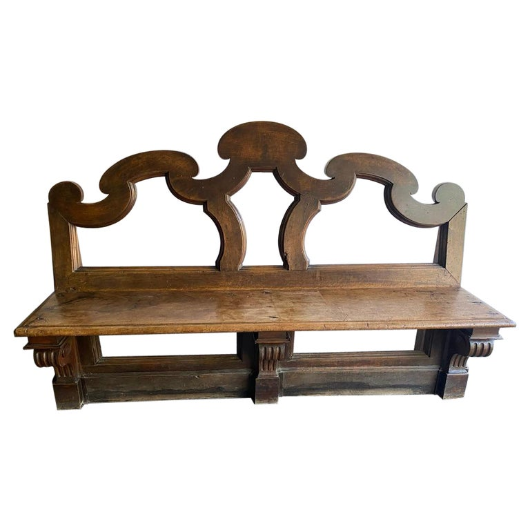 Chateau Bench, France, 18th Century For Sale