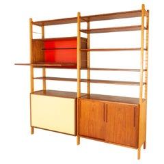 Danish Modern Freestanding Bookcase by Ib Kofod-Larsen 1954