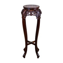 19th-Century Rosewood Side Table/Flower Stand