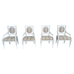 Set of 4 Michael Taylor for Baker Chairs, 1980-1999
