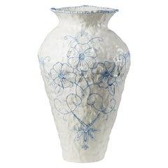 Seart Embroidered Vase Designed by Caroline Harrius