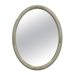 Roses and Buds Oval Mirror