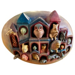 Sergio Bustamante Egg of Life Sculpture