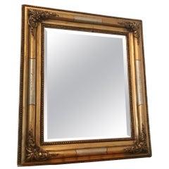 Bidermeier 1820 Gold Mantel Mirror