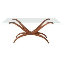 Giuseppi Scapinelli Sculptural 1950s Brazilian Spyder Table