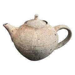 White Tea Pot by Toru Hatta