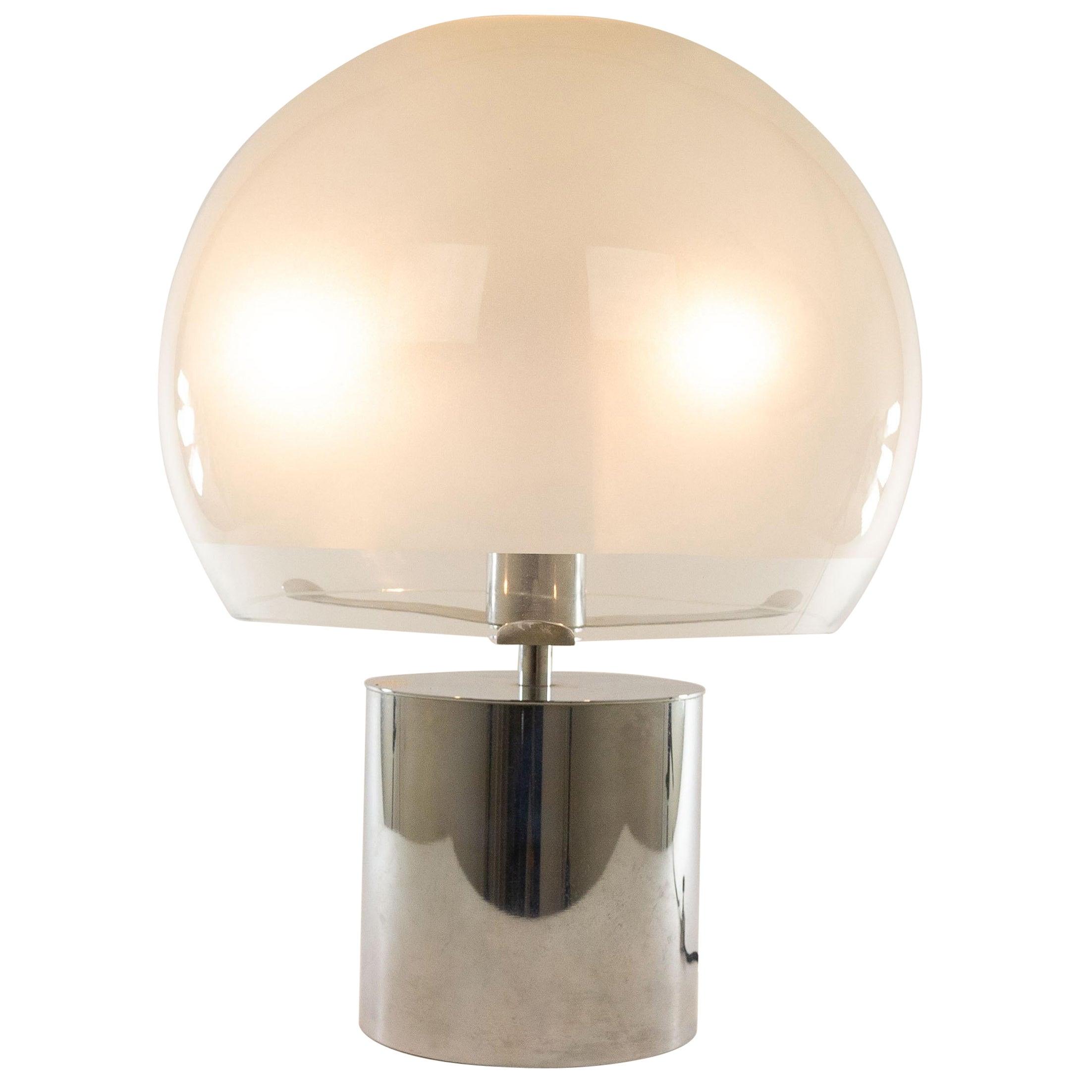 Porcino Table or Floor Lamp by Luigi Caccia Dominioni for Azucena, 1960s