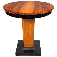Art Deco Walnut Table