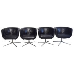 """Piero Lissoni Italy, Four """"Jelly"""" Armchairs, Produced by Living Divani"""