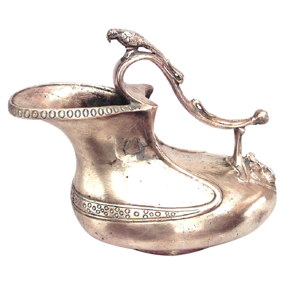 Italian Florentine Style Bronze Pitcher