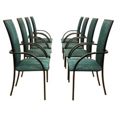 8 Belgochrom Dining Room Chairs