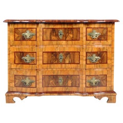 Small Baroque, Louis XV Chest of Drawers, Walnut, Germany, circa 1750