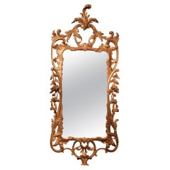 Mid 18th Century Chippendale Period Mirror