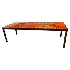 Ceramic Coffee Table by Roger Capron, Vallauris, France, 1960s