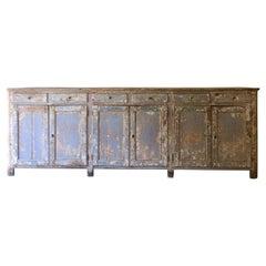 18th Century Swedish Six Door Sideboard