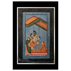 Early 20th Century Mughal Painting