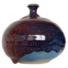 Susan Harnly Peterson Studio Pottery Weed Vase