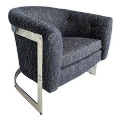 Mid-Century Modern Milo Baughman Lounge Chair