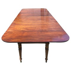 Federal Period Mahogany Dining Table