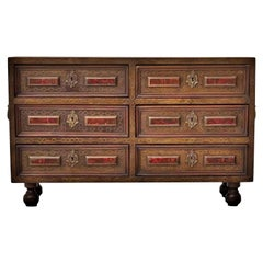 """Antique Spanish Cabinet 18th Century """" Bargueño """"at 30th September 25% Discount"""