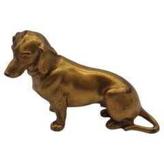 Wiener Dog, Bronze, Viennese Bronze, Austria