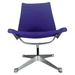 Early Eames Aluminum Group Swivel Lounge Chair / Herman Miller, 4 star base
