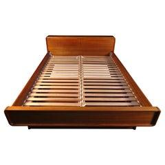 Danish Modern Teak Bed Frame