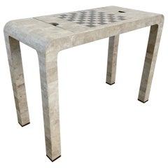 Stone Backgammon/Checkers Table