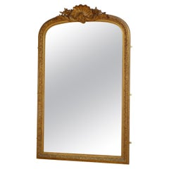 Large 19th Century Gilded Mirror