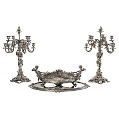 Very Important Set in Silver Plated Bronze