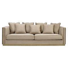 Grant Sofa with Decorative Cushions