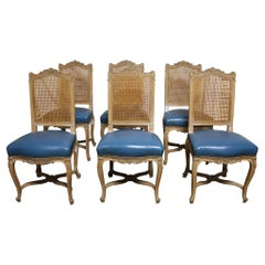 Set of Mid-20th Century French Dining Chairs