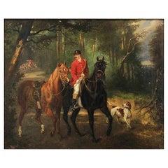 "Kiörbe Carl Fredrik ""Scene of a Hunting Party"""