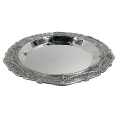 Large Antique Shreve Adam Sterling Silver Centerpiece Bowl
