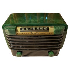 Bendix 526C Catalin Radio in Bright Jadeite Green wIntense Marbleizing Bluetooth
