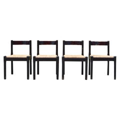 Cassina Carimate Chair by Vico Magistretti, Set of 4
