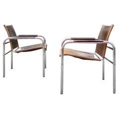 Vintage Ikea 80ties Tord Bjorklund Modell Klinte Lounge Chair Armchairs Set of 2