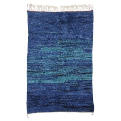New Contemporary Berber Moroccan Rug with Bohemian Style