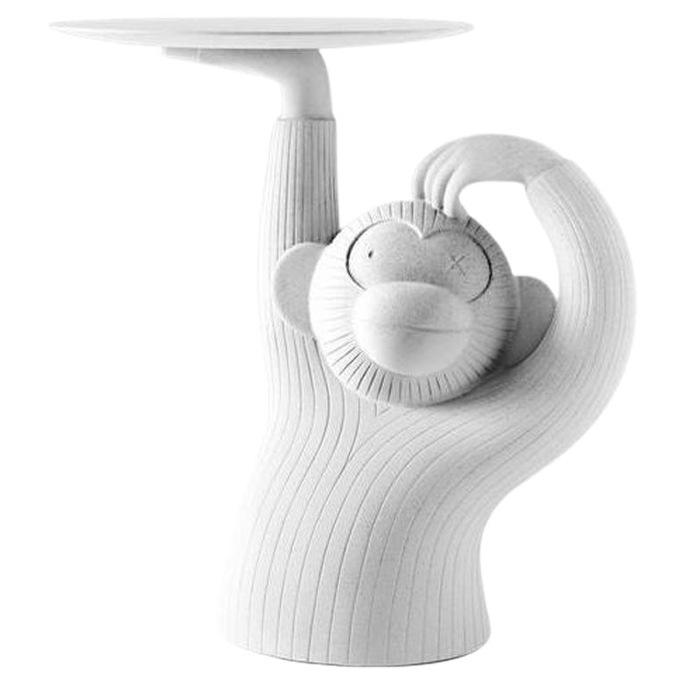 White Monkey Side Table by Jaime Hayon