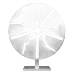 """Sculpture by Strong-Cuevas """"Solar Disk"""""""