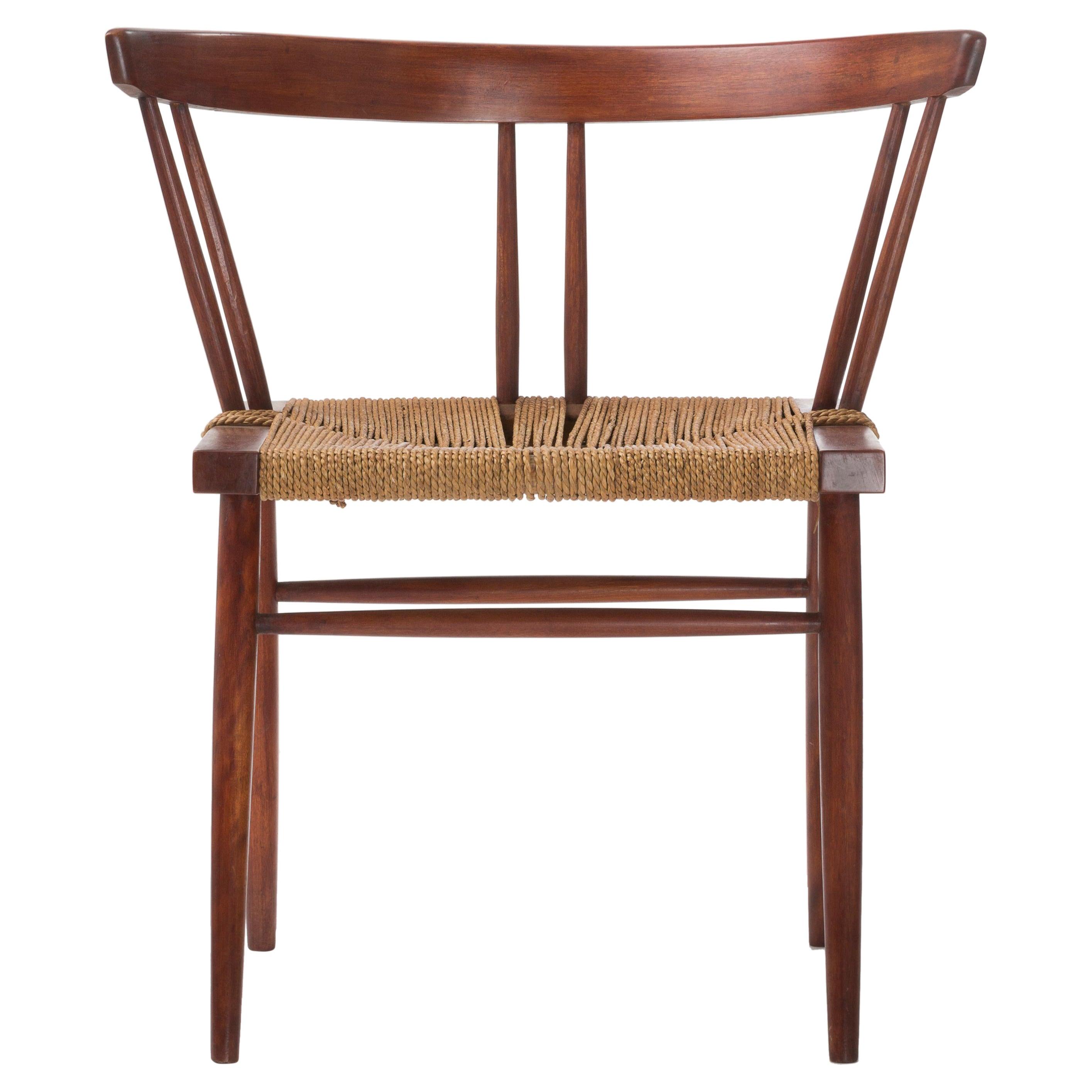 George Nakashima Grass Seated Chair, circa 1956