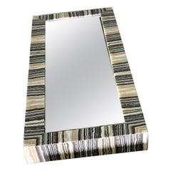 Striped Onyx Mirror