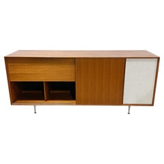 George Nelson Thin Edge Record Player Cabinet