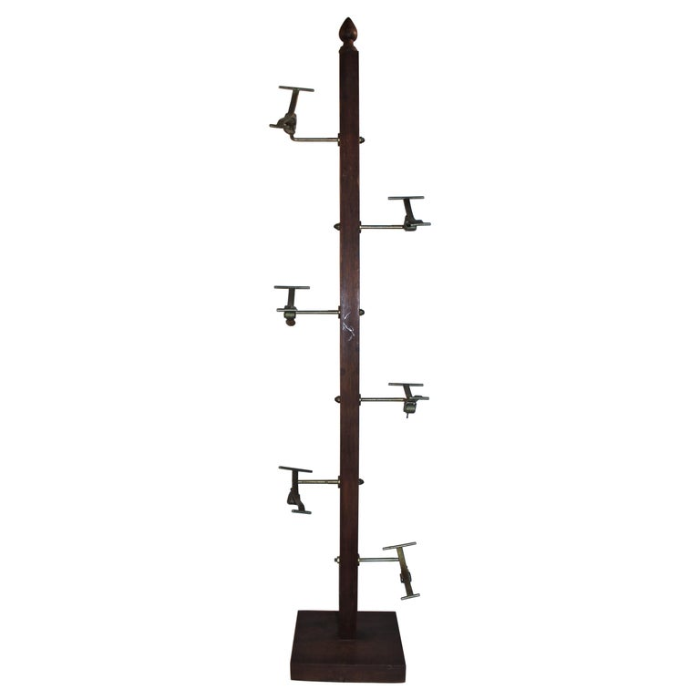 Early 20thc Hat Rack from a Haberdashery For Sale