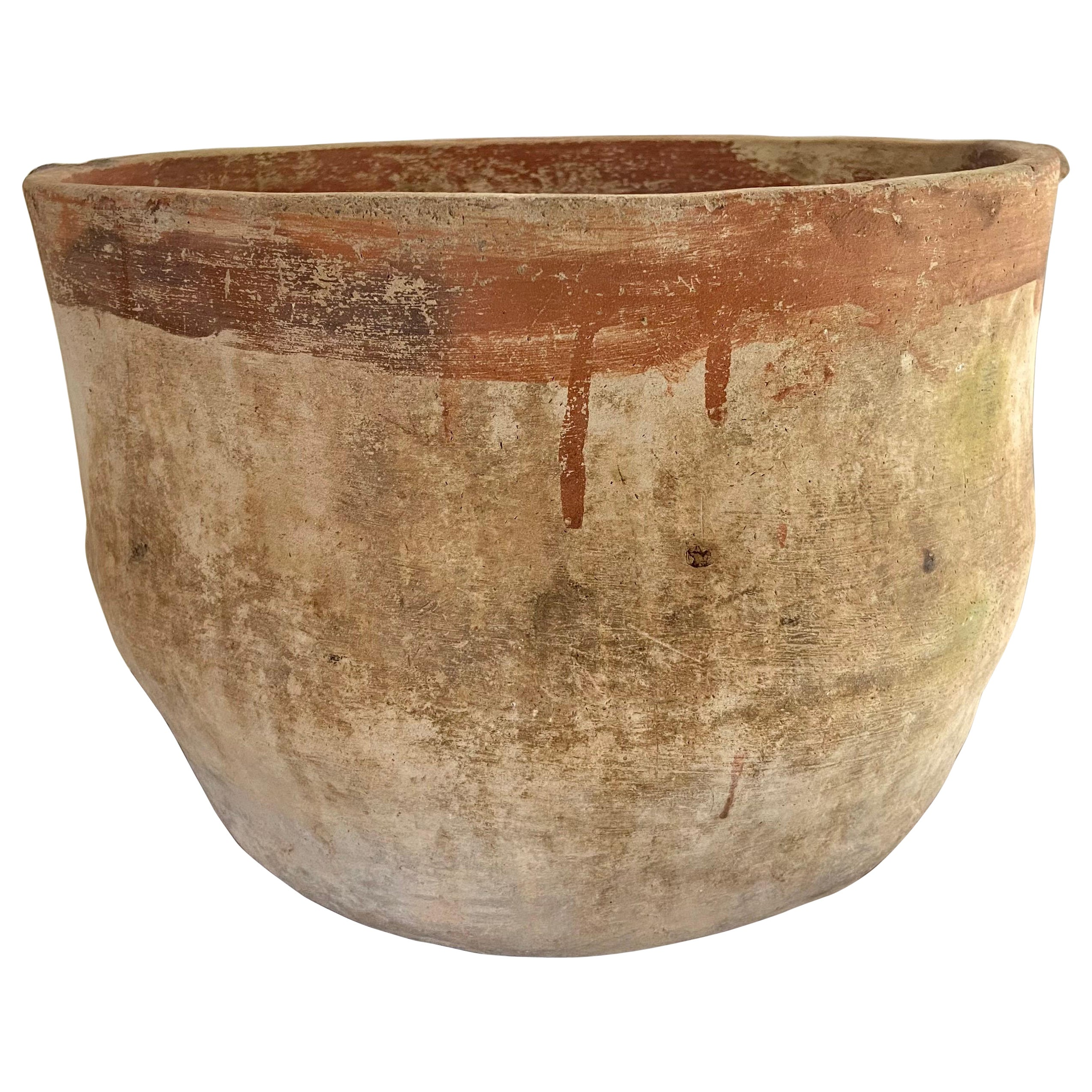 Mid 20th Century Terracotta Pot From Mexico