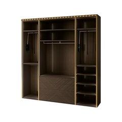21st Century Carpanese Home Italia Wooden Walk in Closet Modern, 7500